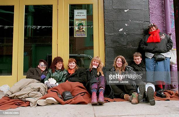 Braving the extreme temperatures outside Avalon on Landsdowne Street in Boston a group of diehard fans of the rock opera Jesus Christ Superstar and...