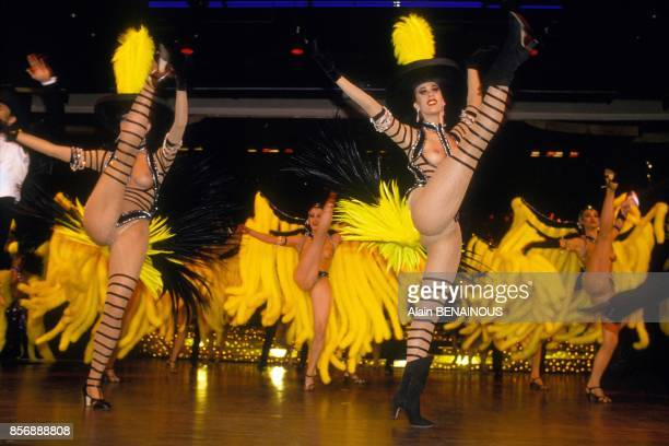 Bravissimo' the new variety show at Lido cabaret on March 3 1990 in Paris France