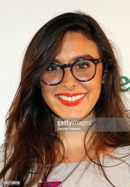 Bravo TV Personality Claudia Martinez Reardon attends the Heineken 2012 US Open Player Party at the Gansevoort Park Hotel on August 24 2012 in New...