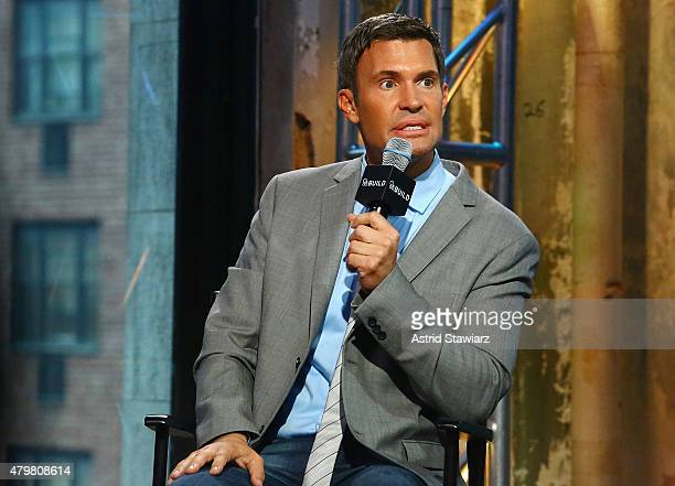 Bravo TV personality Jeff Lewis attends AOL Build Presents Flipping Out at AOL Studios In New York on July 7 2015 in New York City