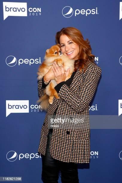 "BravoCon Press Room in New York City on Friday, November 15, 2019"" -- Pictured: Jill Zarin--"