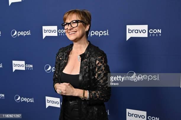 "BravoCon Press Room in New York City on Friday, November 15, 2019"" -- Pictured: Caroline Manzo --"