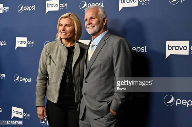 """BravoCon Press Room in New York City on Friday, November 15, 2019"""" -- Pictured: Captain Sandy and Captain Lee --"""