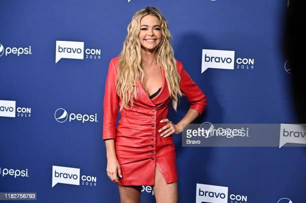 "BravoCon Press Room in New York City on Friday, November 15, 2019"" -- Pictured: Denise Richards --"