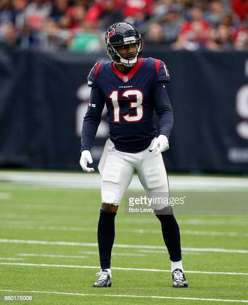 Braxton Miller of the Houston Texans against the Arizona Cardinals at NRG Stadium on November 19 2017 in Houston Texas