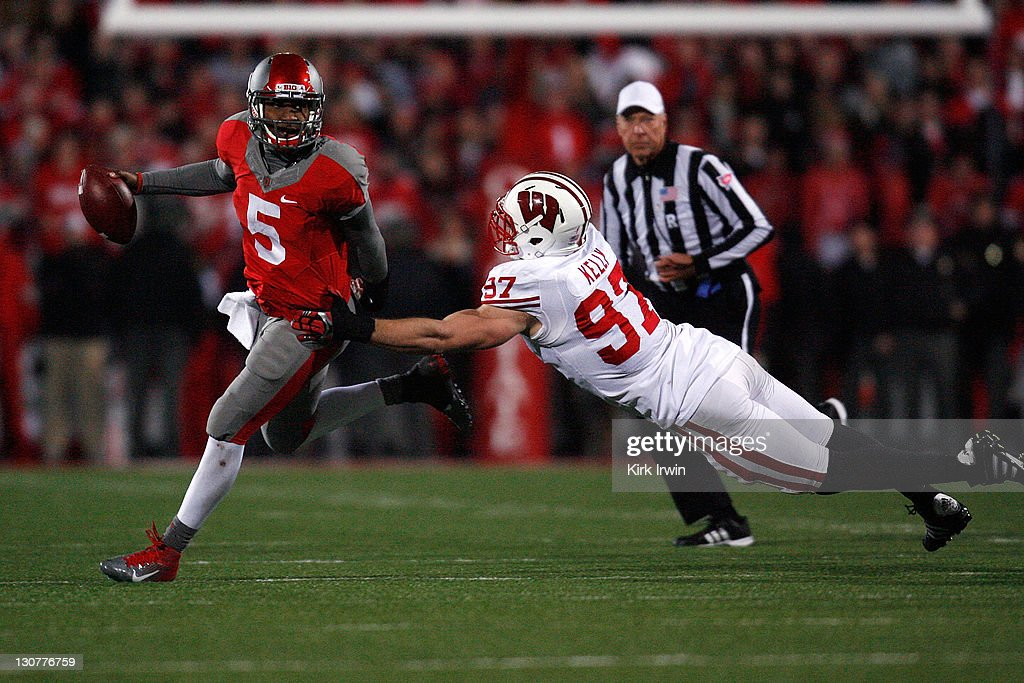 Wisconsin v Ohio State : News Photo