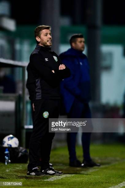 Bray , Ireland - 25 September 2020; Bray Wanderers manager Gary Cronin during the SSE Airtricity League Premier Division match between Bray Wanderers...