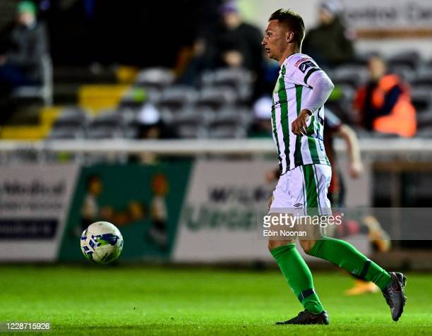 Bray , Ireland - 25 September 2020; John Ross Wilson of Bray Wanderers during the SSE Airtricity League Premier Division match between Bray Wanderers...