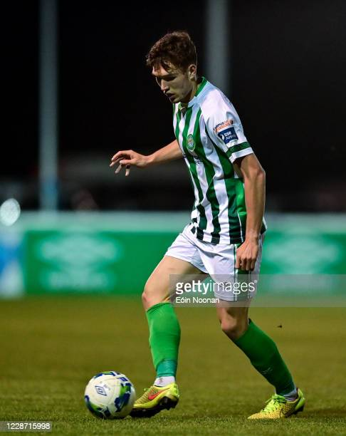 Bray , Ireland - 25 September 2020; Luka Lovic of Bray Wanderers during the SSE Airtricity League Premier Division match between Bray Wanderers and...