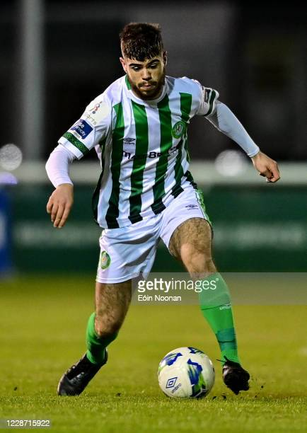 Bray , Ireland - 25 September 2020; Seán McEvoy of Bray Wanderers during the SSE Airtricity League Premier Division match between Bray Wanderers and...