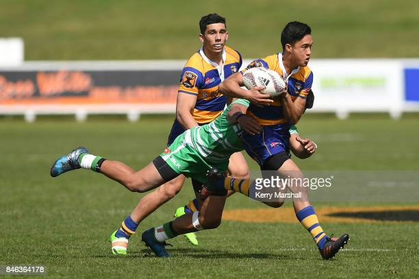 Brayden Cunningham of Bay of Plenty in action during the Jock Hobbs memorial tournament match between Bay of Plenty and Manawatu on September 13 2017...