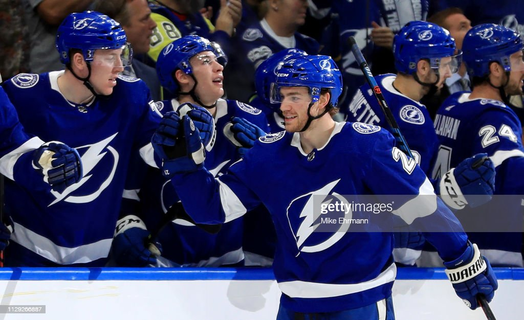 Calgary Flames v Tampa Bay Lightning : News Photo