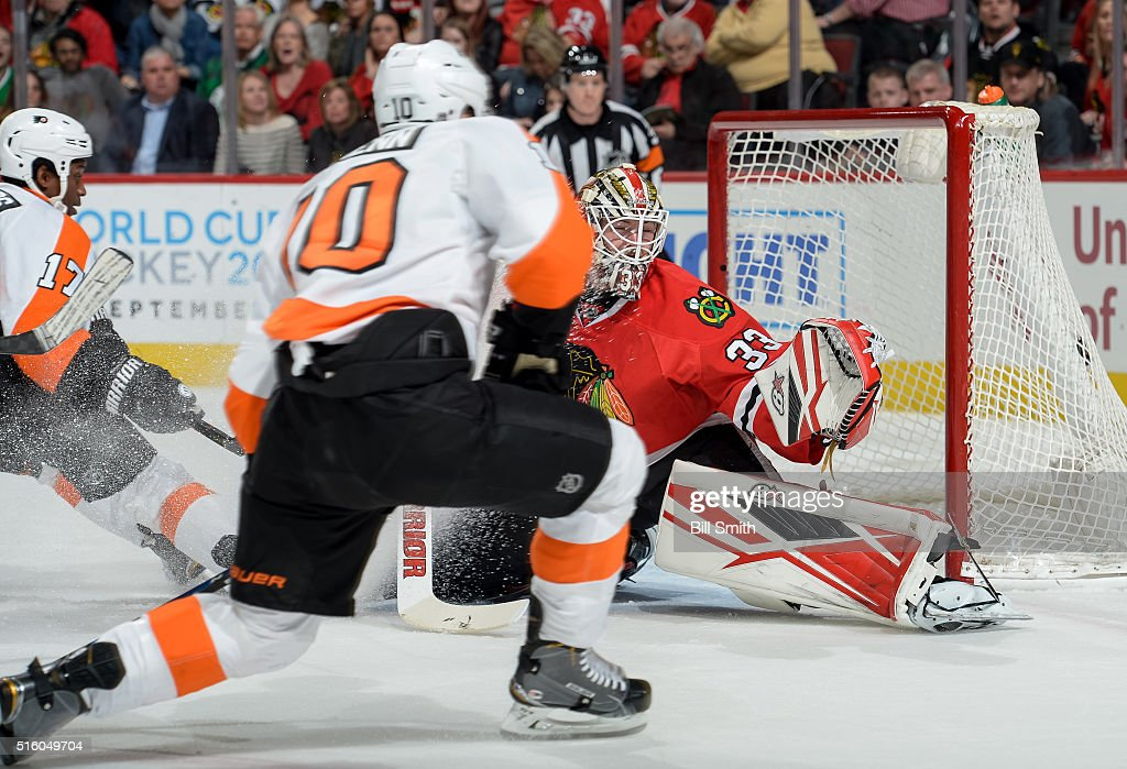 Philadelphia Flyers v Chicago Blackhawks