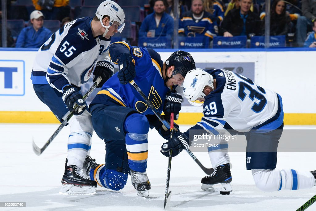 Winnipeg Jets v St Louis Blues