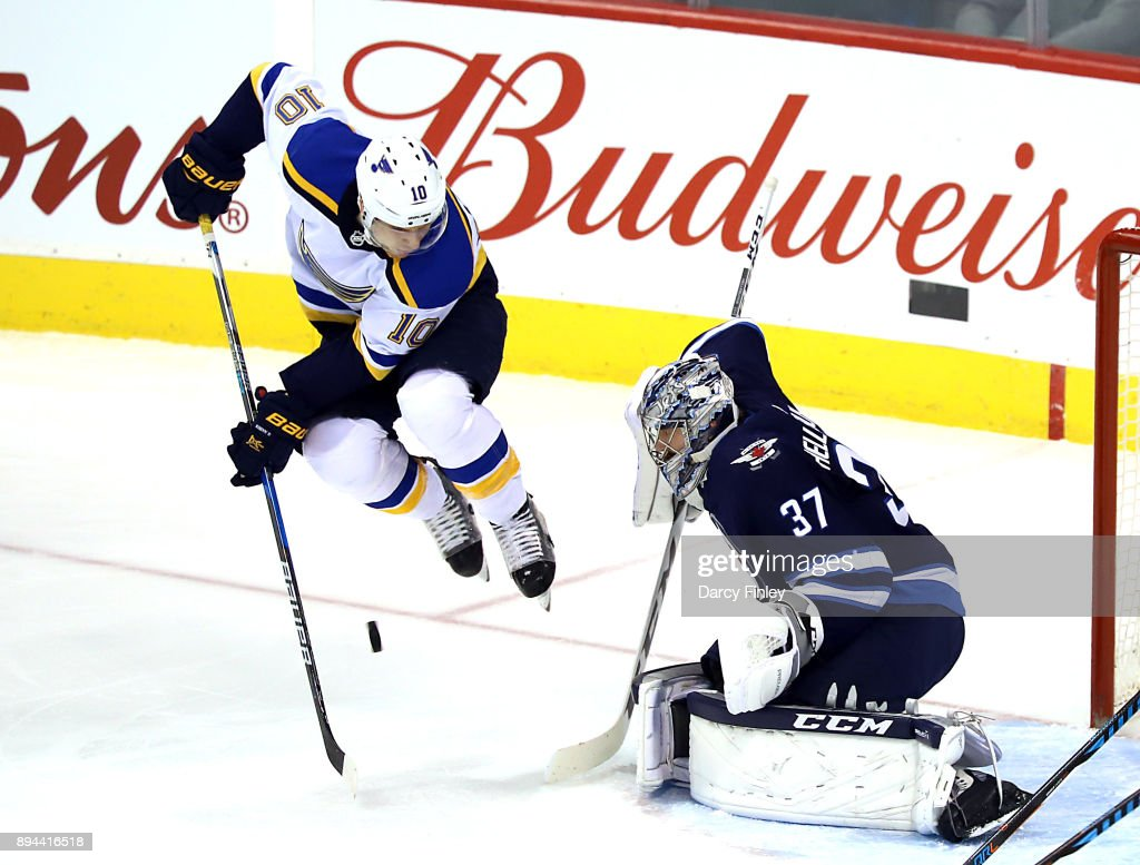 St Louis Blues v Winnipeg Jets