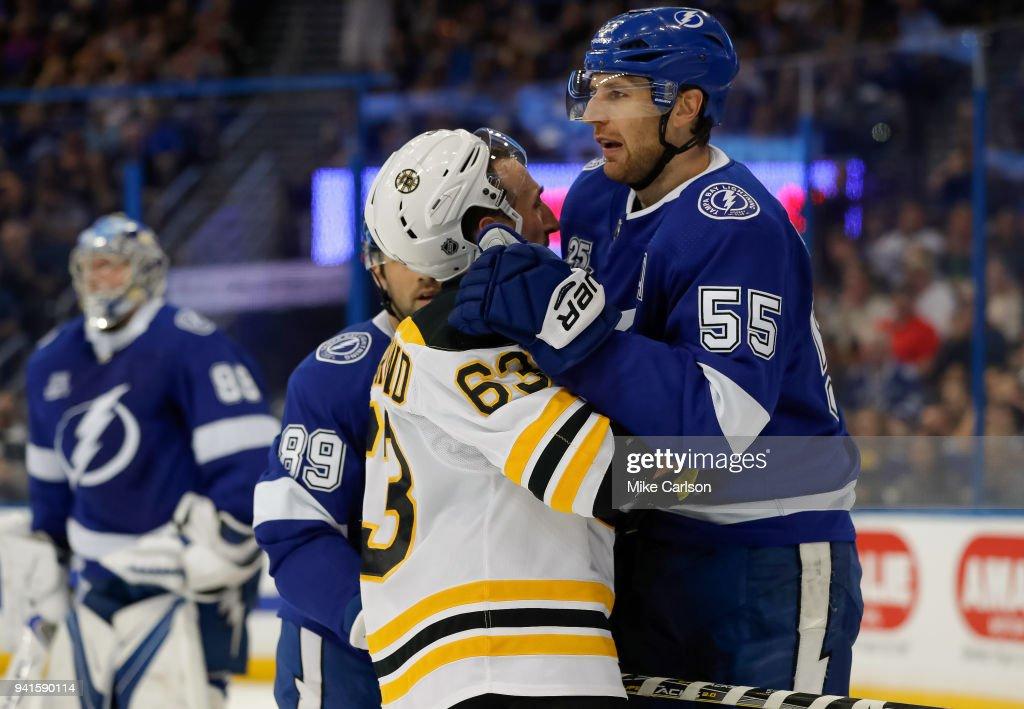 Boston Bruins v Tampa Bay Lightning : News Photo