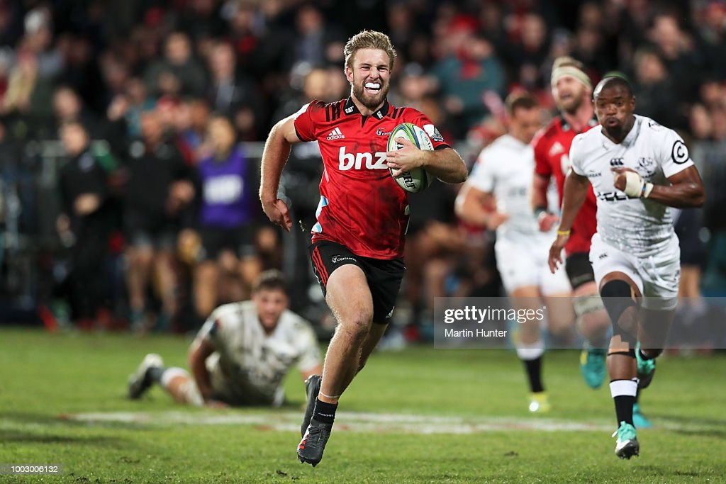 Super Rugby Qualifying Final - Crusaders v Sharks : News Photo