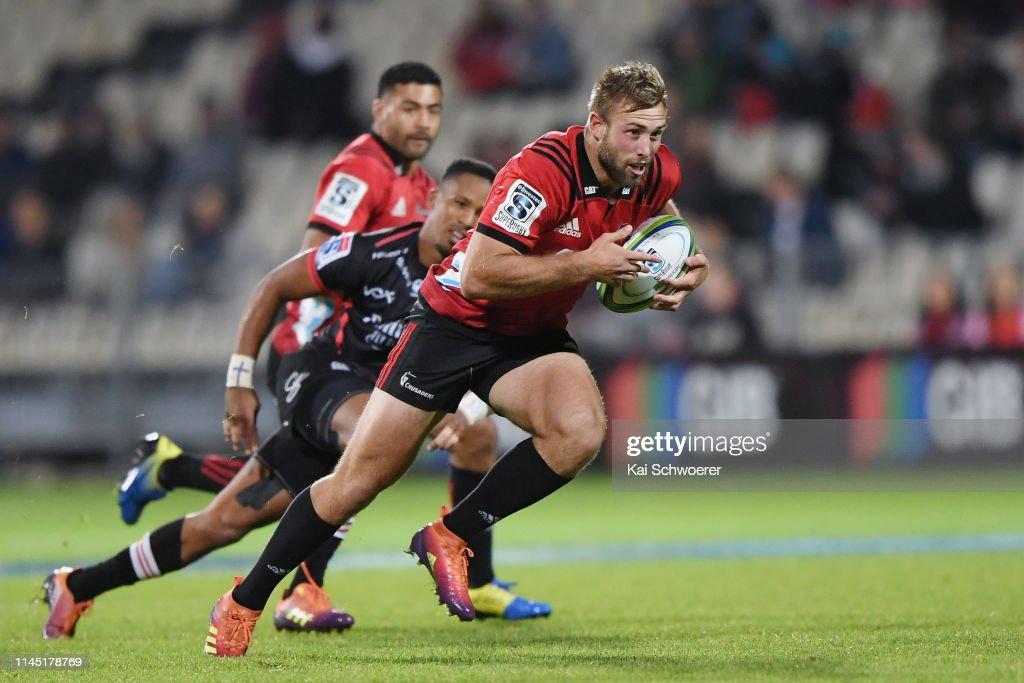 Super Rugby Rd 11 - Crusaders v Lions : ニュース写真