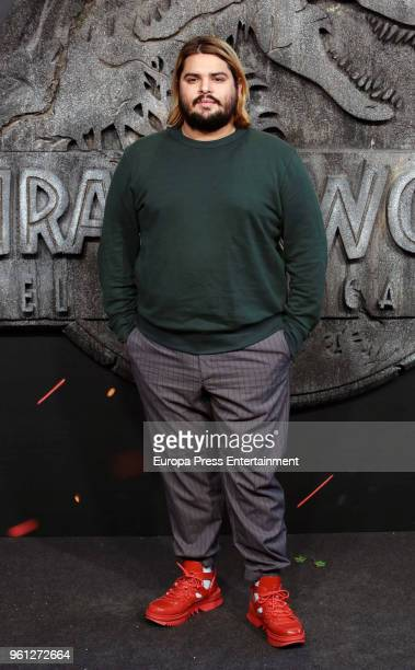 Brays Efe attends the 'Jurassic World Fallen Kindom' premiere at Wizink Center on May 21 2018 in Madrid Spain