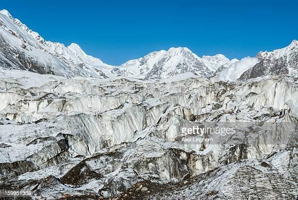 Brazhin glacier, Nanga Parbat (Rupal face)