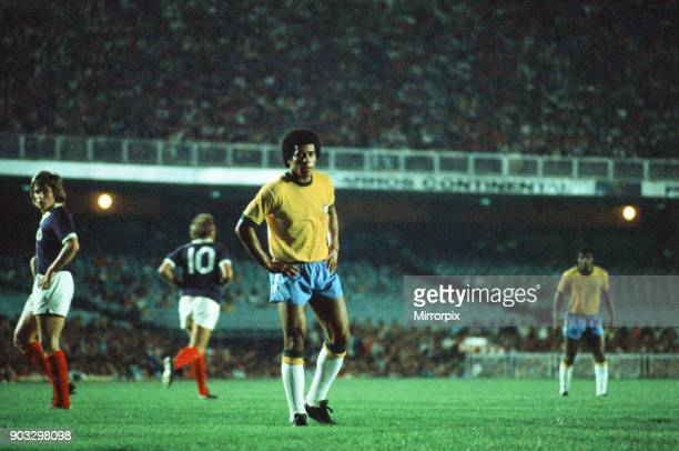 Brazil 1-0 Scotland, 1972 Brazil Independence Cup, final stage, Group A match at the Estadio do Maracana, Rio de Janeiro, Brazil, Wednesday 5th July...