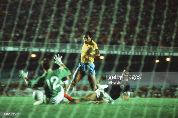 Brazil 10 Scotland 1972 Brazil Independence Cup final stage Group A match at the Estadio do Maracana Rio de Janeiro Brazil Wednesday 5th July 1972...