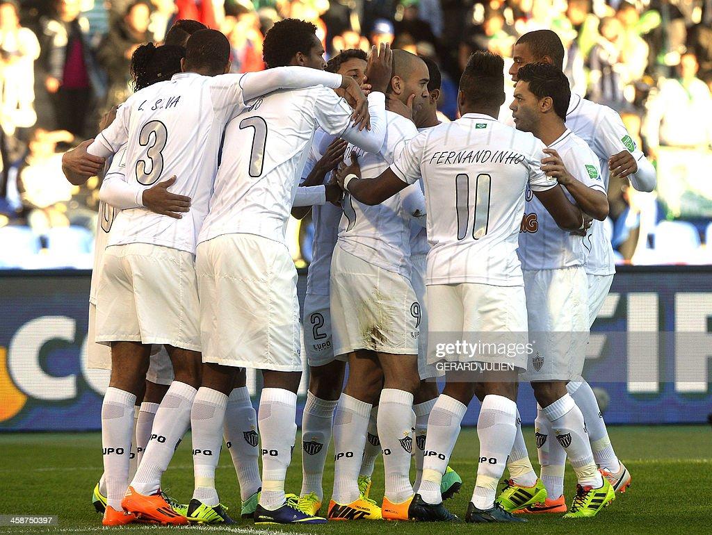 FBL-WCLUB-2013-GUANGZHOU EVERGRANDE-ATLETICO MINEIRO : News Photo