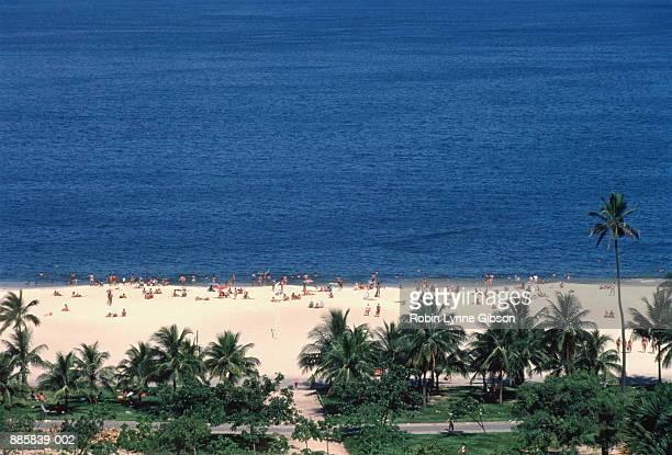 Brazil, Bahia, Porto Seguro beach