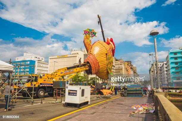 brazil: carnival 2018 - frevo imagens e fotografias de stock