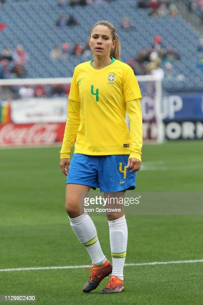 Brazil defender Erika during the SheBelieves Cup match between Brazil and Japan at Nissan Stadium on March 2nd 2019 in Nashville Tennessee