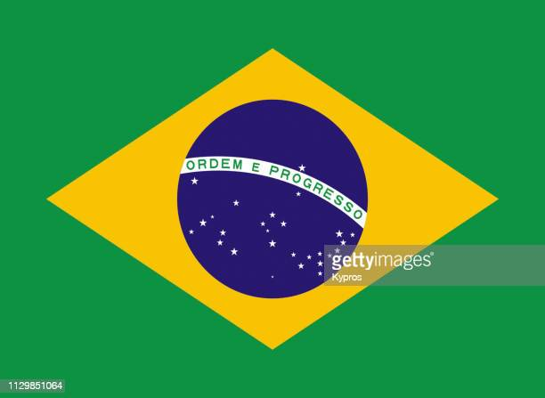brazil flag - brazil stock pictures, royalty-free photos & images