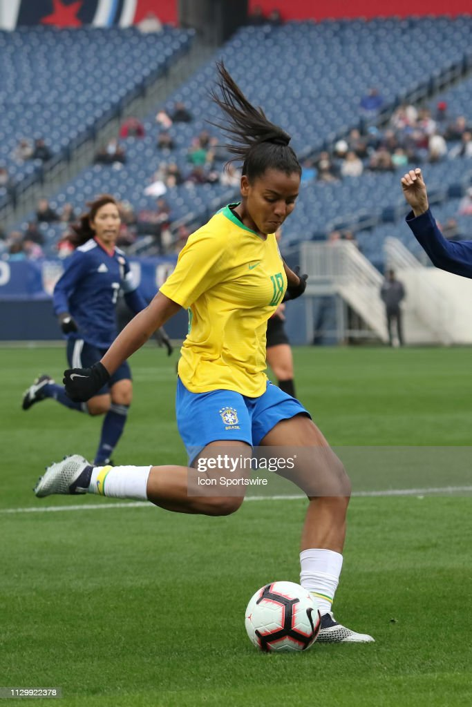 SOCCER: MAR 02 SheBelieves Cup - Brazil v Japan : News Photo