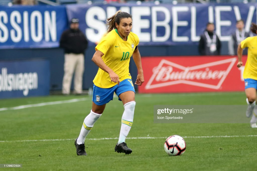 SOCCER: MAR 02 SheBelieves Cup - Brazil v Japan : News Photo