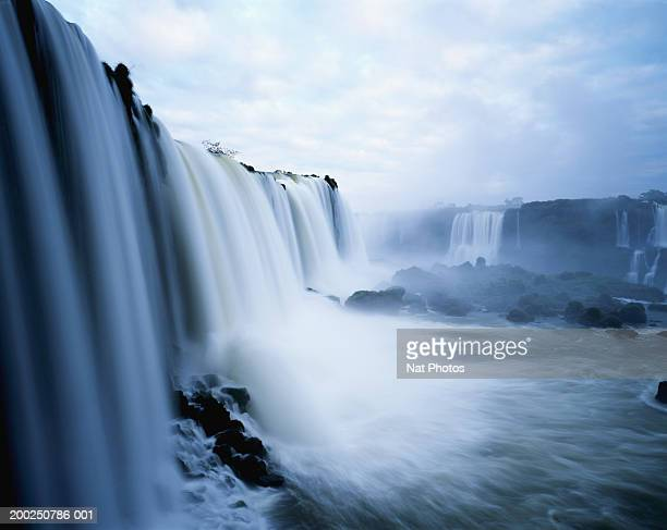 Brazil, Iguacu Falls (blurred motion)