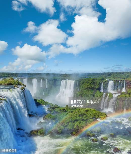 ブラジル イグアスの滝国立公園内 - イグアス滝 ストックフォトと画像