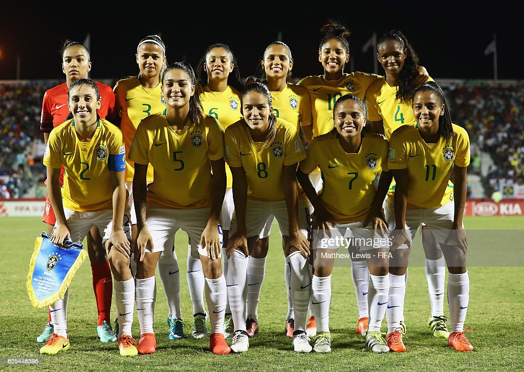Japan v Brazil: Quater Final - FIFA U-20 Women's World Cup Papua New Guinea 2016 : News Photo