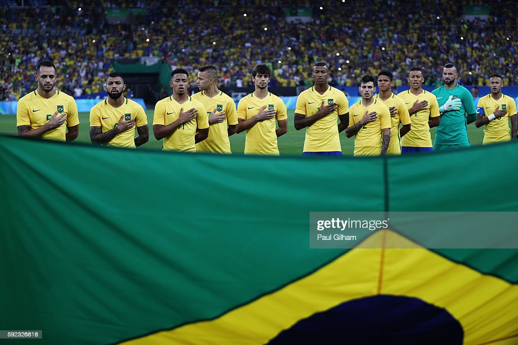 Brazil v Germany - Final: Men's Football - Olympics: Day 15 : News Photo