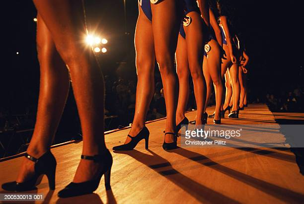 Brazil, Manaus City, Beauty Queen competition, contestants on stage