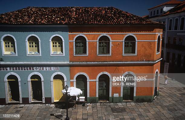 Brazil - Maranhao State - Sao Luis . A building.
