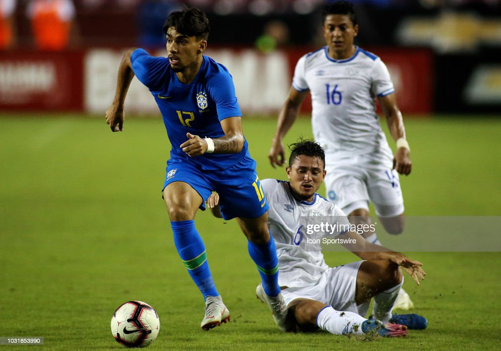 SOCCER: SEP 11 El Salvador v Brazil : News Photo