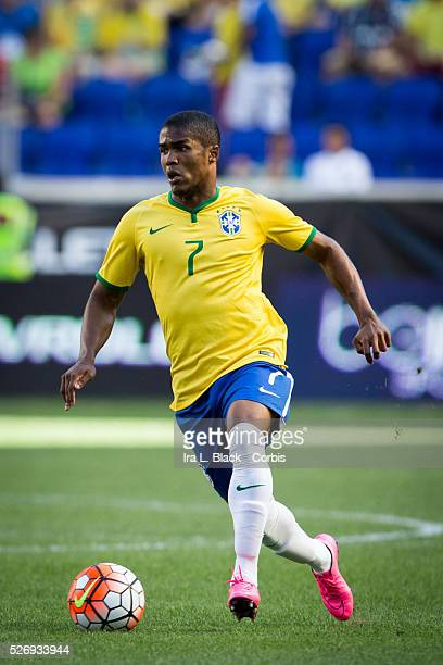 Brazil national team player Douglas Acosta during the Soccer 2015 Brazil National Team vs Costa Rica on September 5th 2015 at Red Bull Arena in...