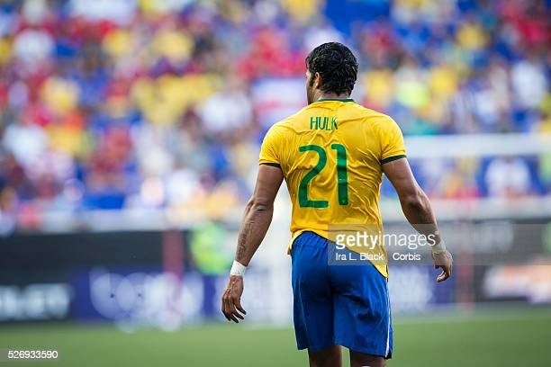 Brazil national team player HULK during the Soccer 2015 Brazil National Team vs Costa Rica on September 5th 2015 at Red Bull Arena in Harrison NJ USA...