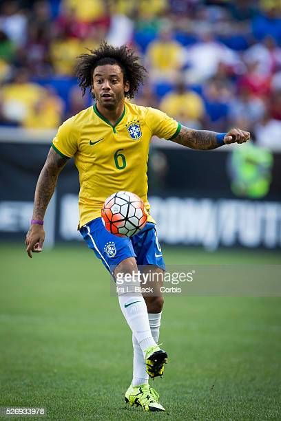 Brazil national team player Marcelo during the Soccer 2015 Brazil National Team vs Costa Rica on September 5th 2015 at Red Bull Arena in Harrison NJ...