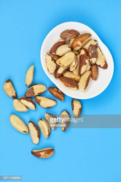 brazil nuts - magnesium stock pictures, royalty-free photos & images