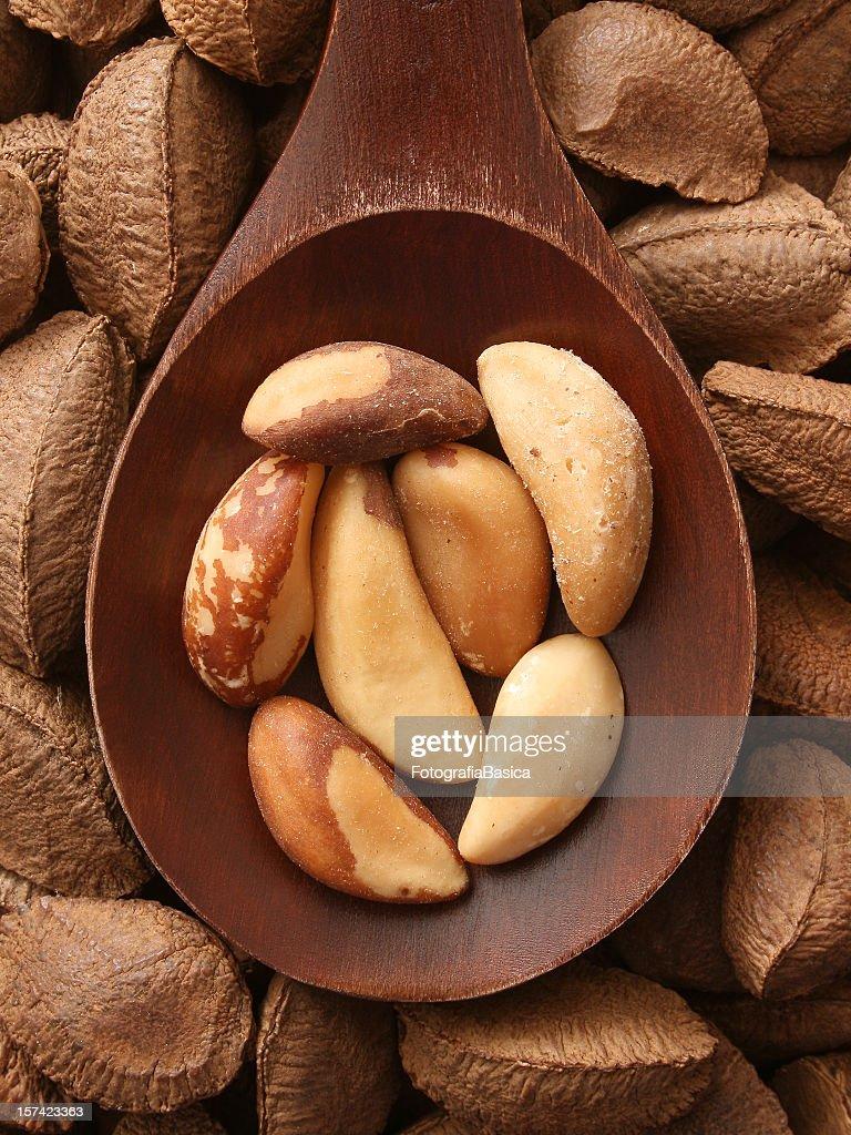 Brazil nuts : Stock Photo