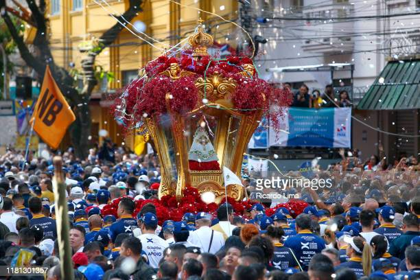 brazil - our lady of nazareth celebrations in belém - sacrifice play stock pictures, royalty-free photos & images