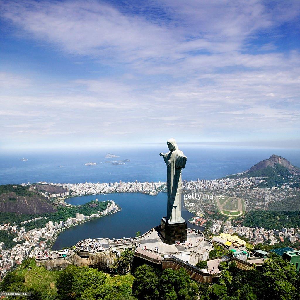 Brazil, Rio de Janeiro, Christ the Redeemer : Stock Photo