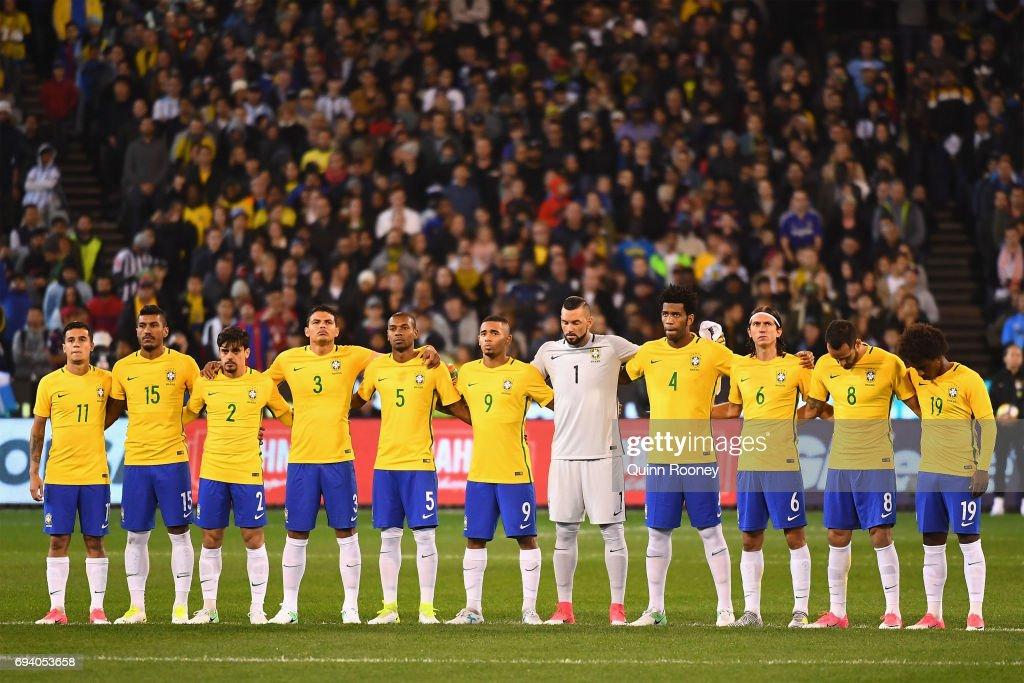 Brazil Global Tour - Brazil v Argentina : Nachrichtenfoto