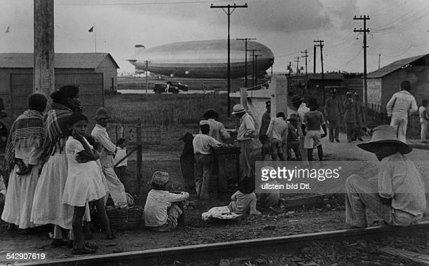 Brazil Stay in a small market town in the state of Pernambuco during a weeklong South America journey by zeppelin 1936 Photographer Alfred...