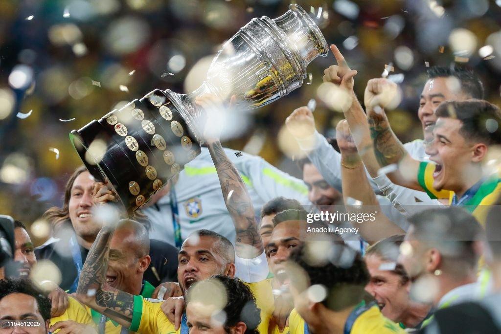 Conmebol America Cup Brazil 2019 - Brazil vs Peru : News Photo